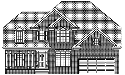 Traditional Style Two Story House Plan 27-01