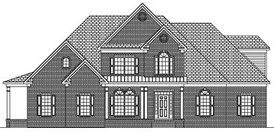 Small Traditional House Plan 26-01 Front