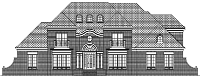 Unique Traditional Style Home Plan 46-01