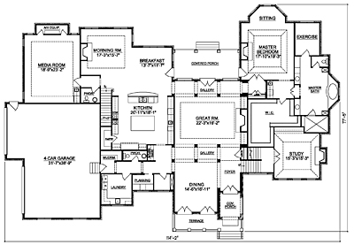3000 Square Foot House Plans Second Floor 3000 Square Foot Home