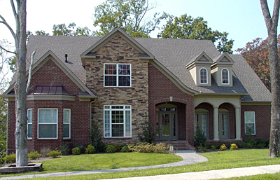 Unique French Country Style Home Plan 41-01